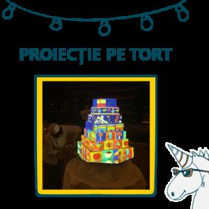 Proiecție pe tort