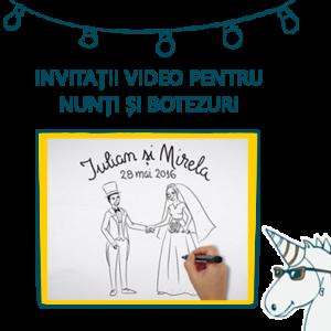 Invitații video