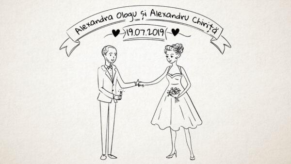 invitatie video animata-nunta-botez-personalizare-partiala